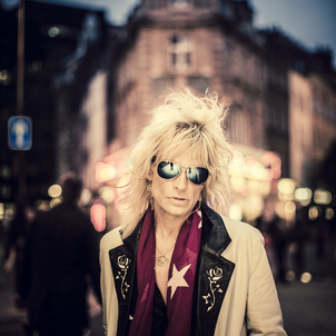 MICHAEL MONROE                     (HANOI ROCKS)                        London UK