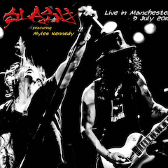 "SLASH                                                ""Live in Manchester"""